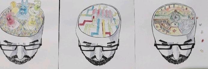 Het hoofd opruimen op de eigen manier