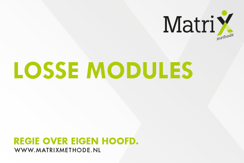 Losse modules MatriXmethode