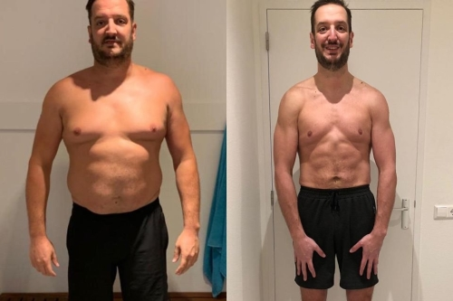 30kg afvallen