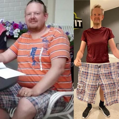 45kg afvallen