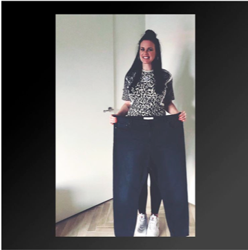 37 kilo afvallen