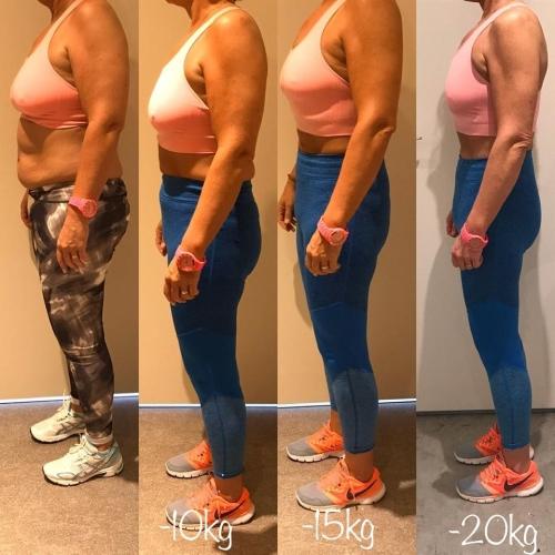 marleen 20kg afvallen