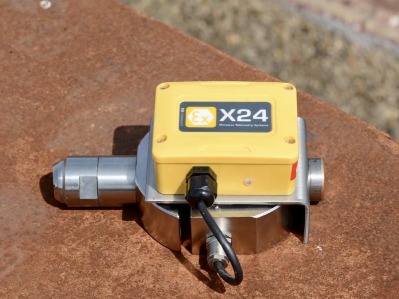 The wireless ATEX-proof Controlock®sensor