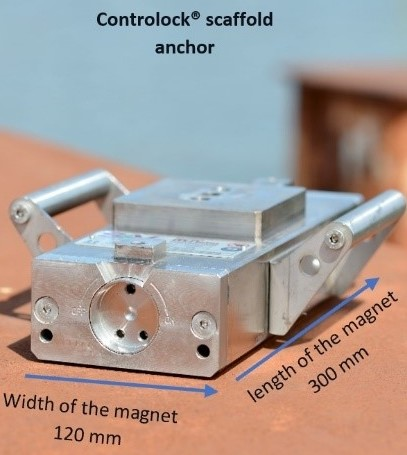 Controlock® magnet dimensions