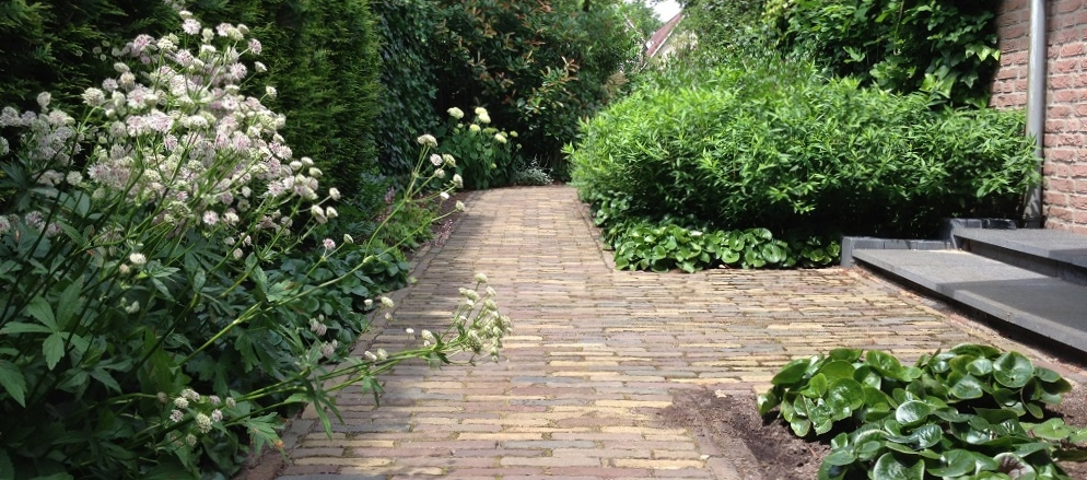 Idee n voor de tuin bekijk 25 geweldige tuin idee n incl gratis pdf - Oude patroon tegel ...