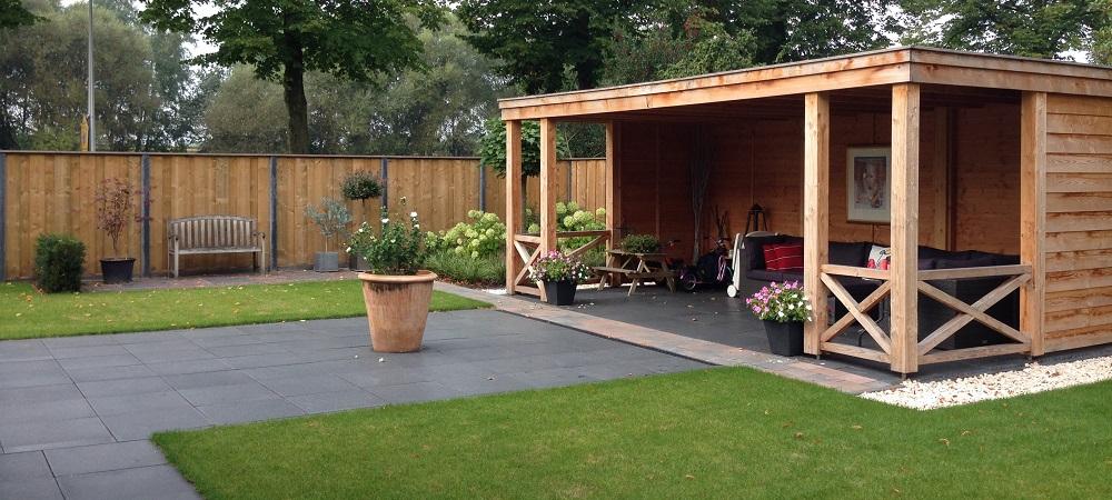Mecklenfeld tuinen strakke achtertuin aadorp for Foto op hout maken eigen huis en tuin