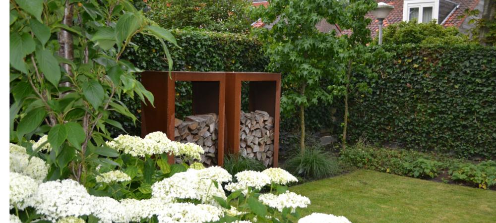 Favoriete Strakke tuin in Vriezenveen (met Cortenstaal) @WF65