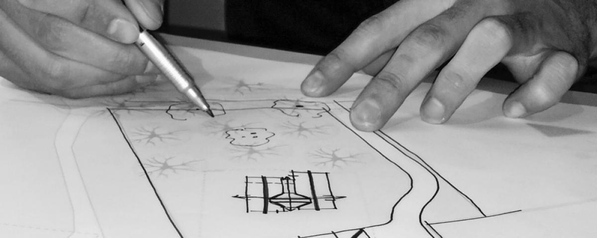 Tuinontwerp laten maken bekijk ons schetsontwerp for Wat kost een tuinontwerp