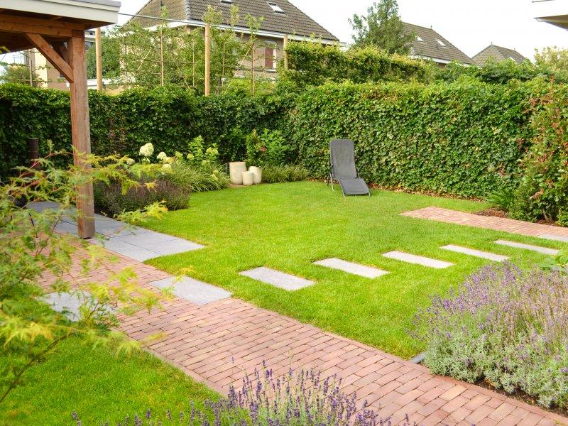 Moderne tuin in Hoogeveen