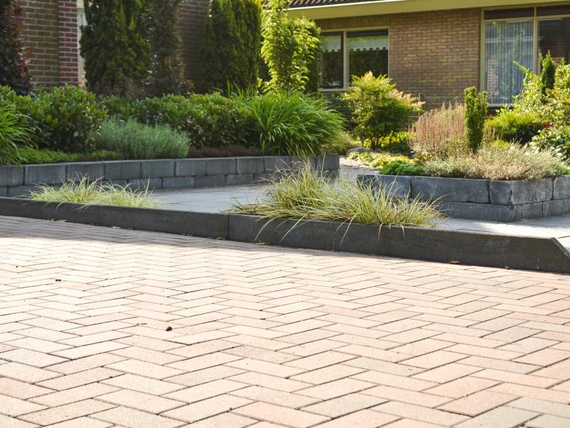 Moderne tuin in Dedemsvaart