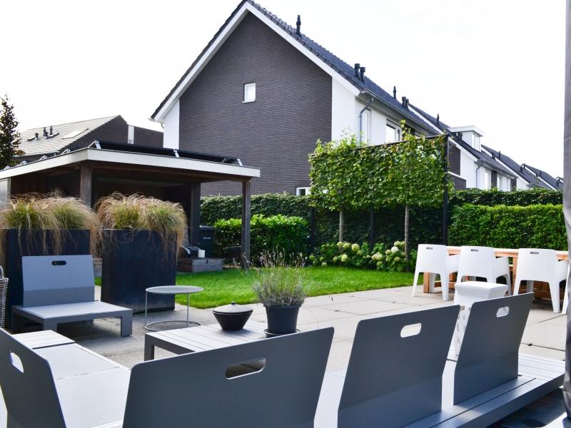 Moderne tuin in Hardenberg