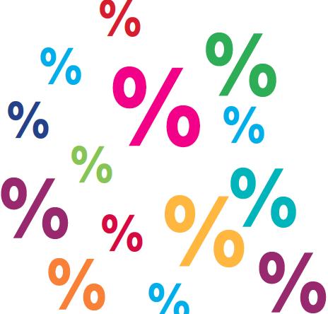 Rekenen met percentages