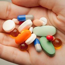 tabletten in hand