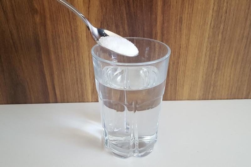 water-zout-oplossing