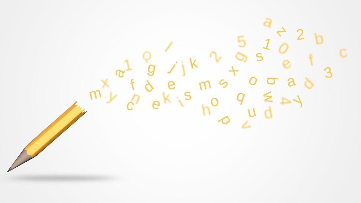 Beeldenkers raken in de war van letters