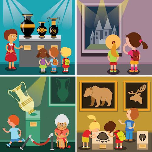 Start het schooljaar met kijken naar kunst