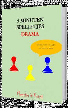 5 minuten spelletjes Drama E-book