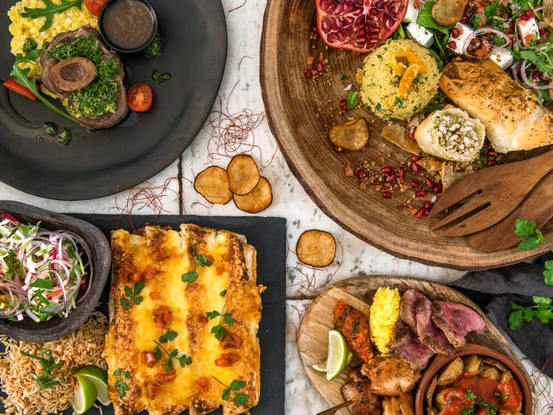 Vergaderen met food arrangement hilversum