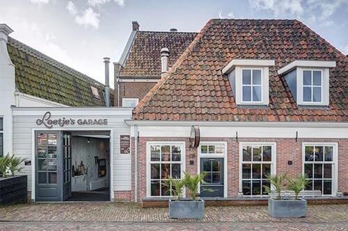 Vergaderlocatie Loetje's Garage in Amstelveen