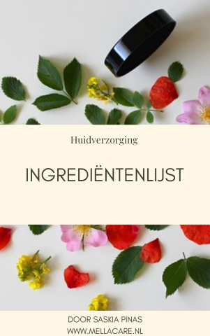 De ingrediëntenlijst. Wat smeer ik dagelijks op mijn huid?