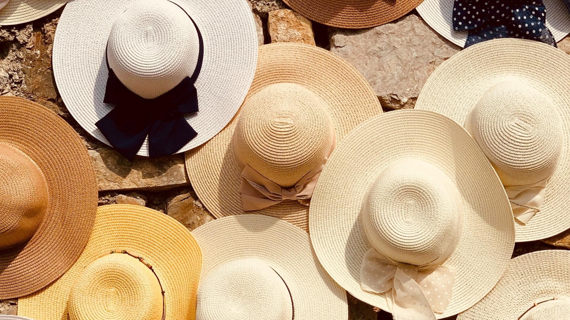 Een hoed als bescherming tegen de zon