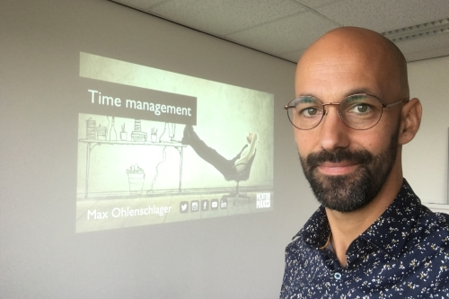 time management trainer Max Ohlenschlager