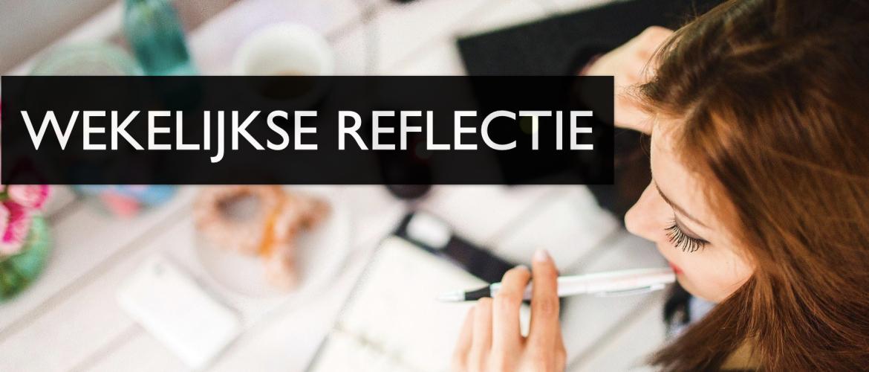 Wekelijkse reflectie voor meer rust en overzicht
