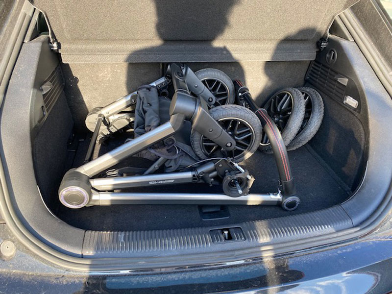 Mercedes kinderwagen