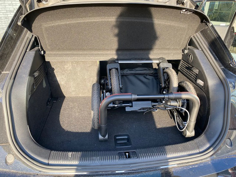 Mercedes kinderwagen model AMG