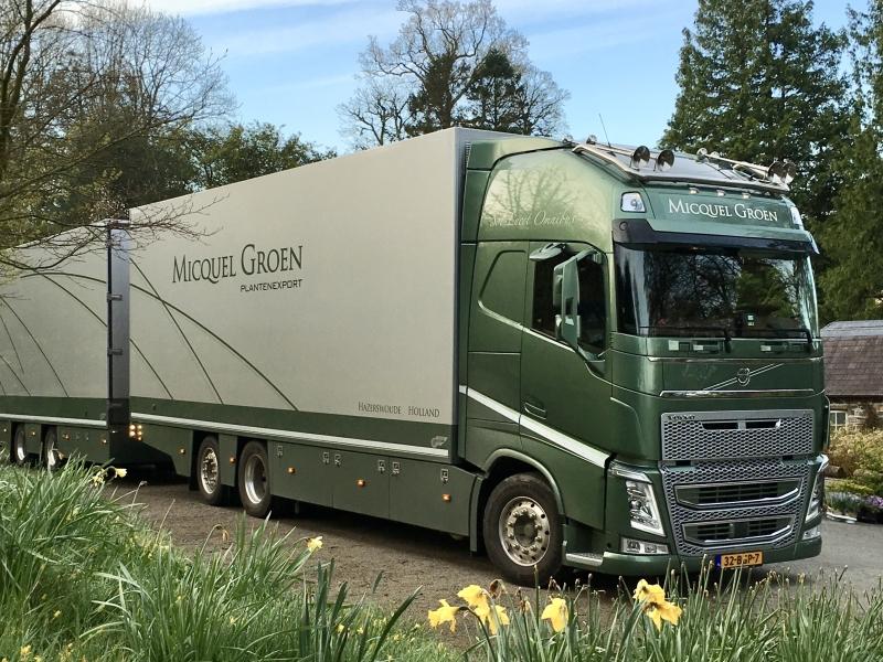 Own lorry fleet.