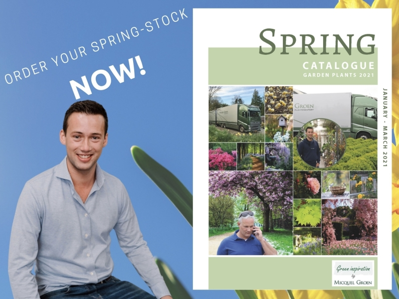 Bart Spring Catalogue 2021 order your plant stock.