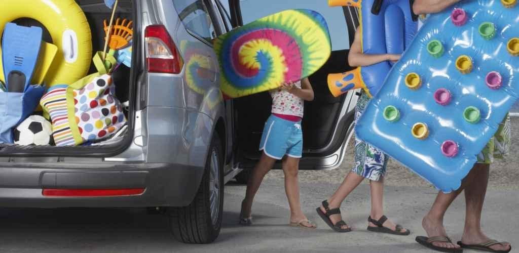 Vakantie tweedehands auto ruime achterbank
