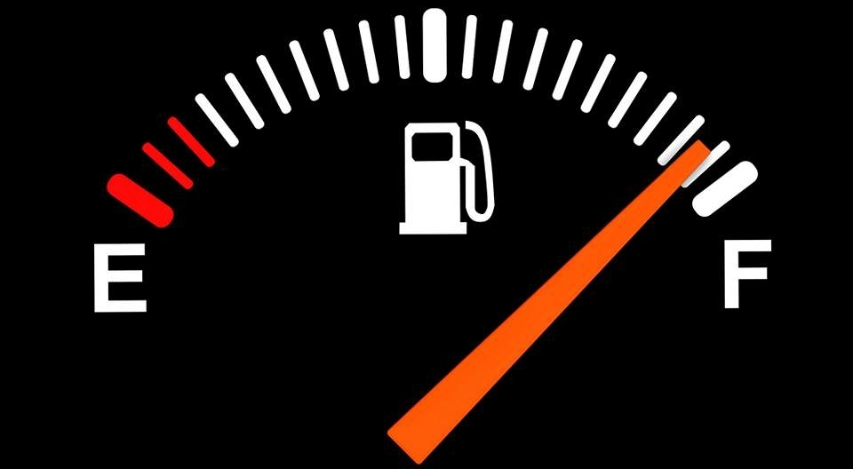 tweedehands auto benzine meter