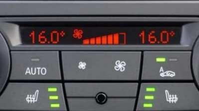 gescheiden temperatuur tweedehands auto met airco