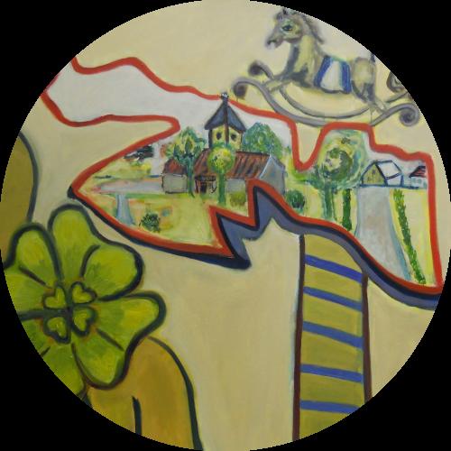 zevenhoven-het-dorp-van-mijn-jeugd-ansvianen-tekenen-schilderen