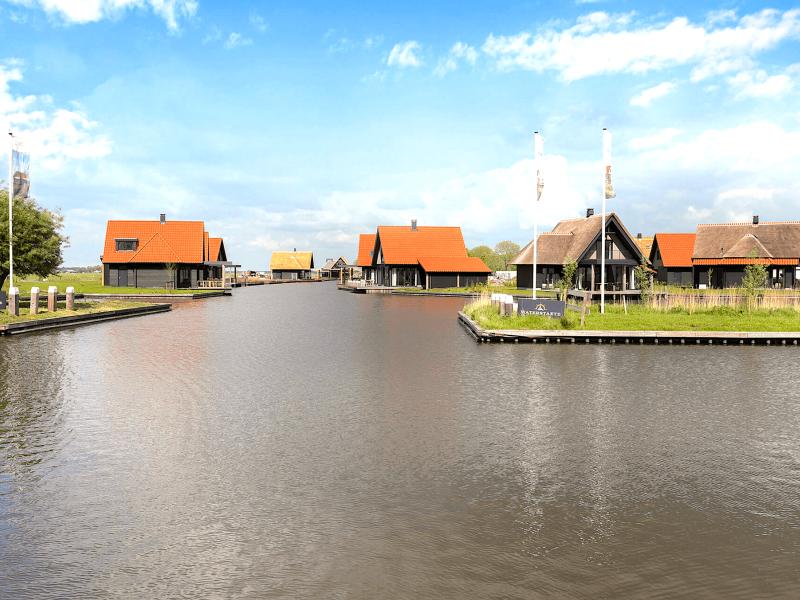 Waterstaete Ossenzijl 60 MijnVakantiehuisJouwVakantiehuis.nl park ingang