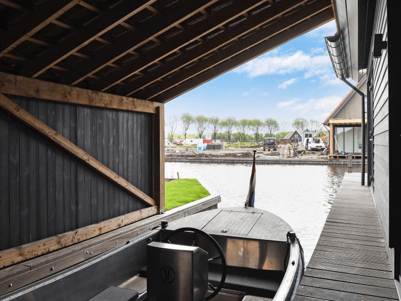 MijnVakantiehuisJouwVakantiehuis.nl boothuis Waterstaete Ossenzijl nr 60