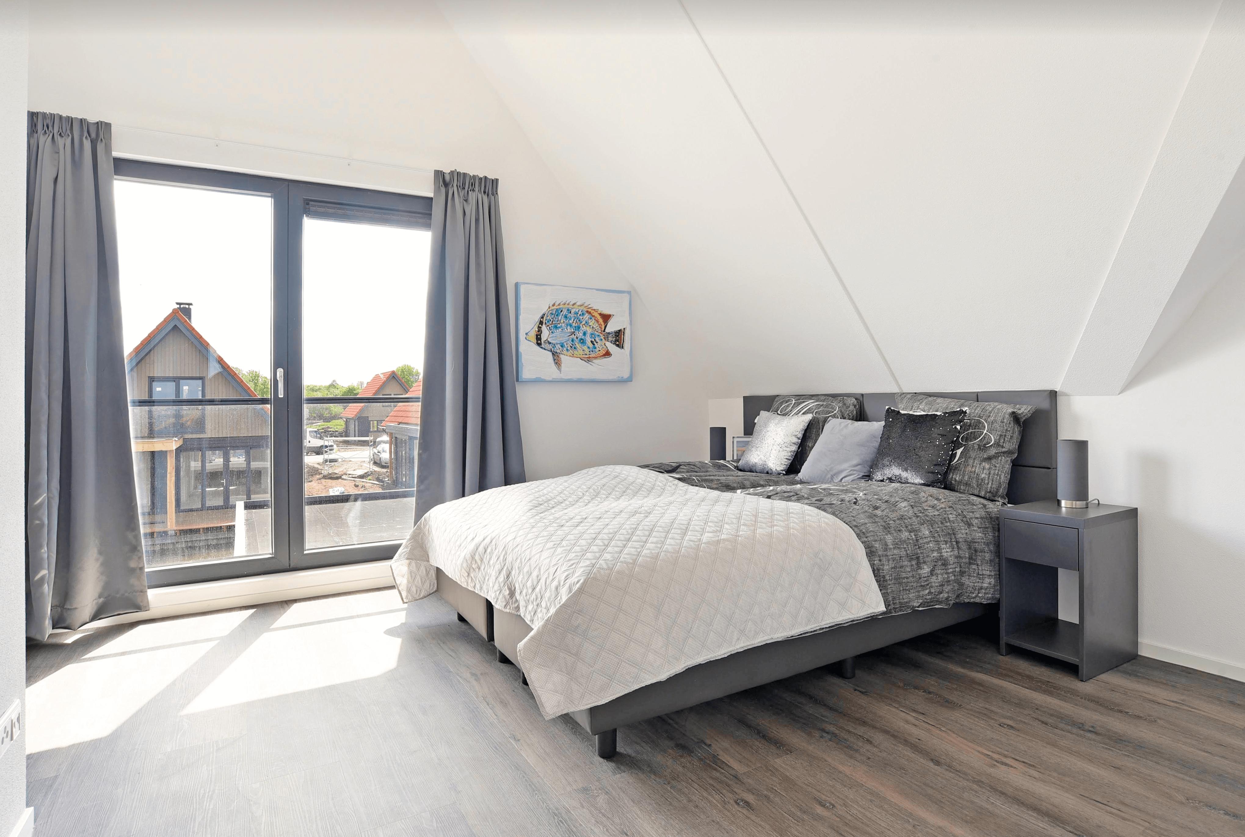 slaapkamer vakantiewoning gierthoorn