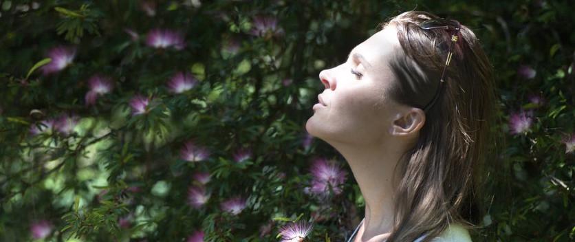 Irregular respiration fast breathing