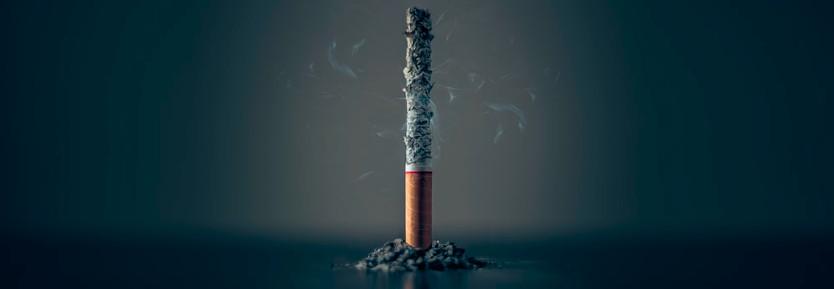Smoking: symptoms burnout and stress