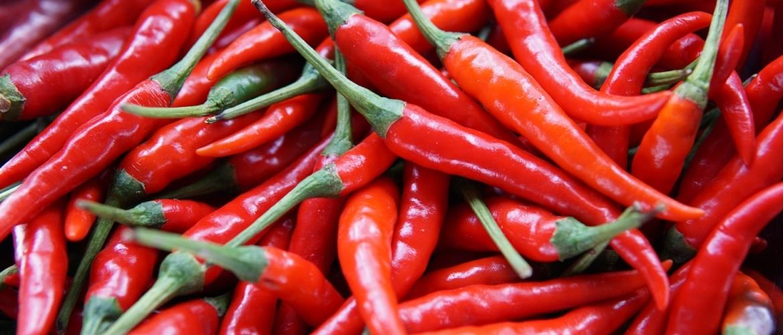 Pepers: bijkleuren en drogen