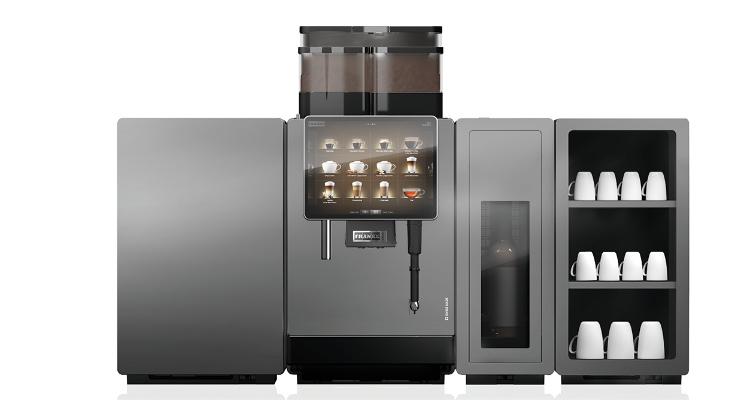 Beste Professionele koffiemachine Franke A800