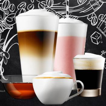 Koffiedranken bij de Franke A850 professionele koffiemachine