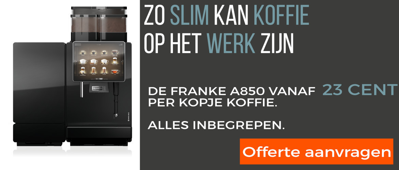 Offerte aanvraag Franke A850 professionele koffiemachine