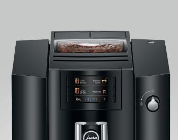 Jura E6 koffiemachine compact design