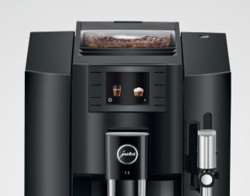 koffiebonen reservoir jura e8 koffiemachine