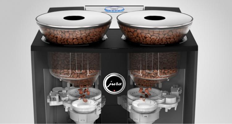 Keramische koffiemolens Jura Giga 6 koffiemachine