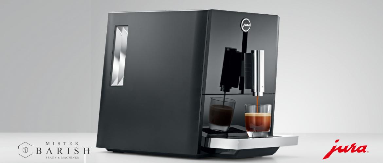 Jura A1 koffiemachine is compact, elegant en zet uitstekende espresso