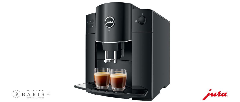De Jura D4 is een betaalbare koffiemachine voor enkel zwarte koffie