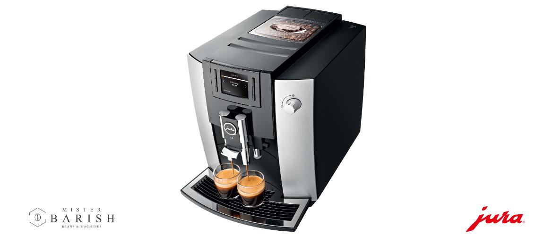 Jura E6: een volautomatische koffiemachine uiterst geschikt voor o.a zwarte koffie